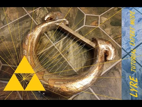 The legend of Zelda Skyward Sword Lyre/Harp DIY tutorial Expert mode