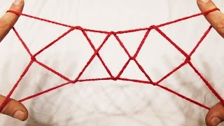 String Tricks - How To Make A Three Diamond Jacob's Ladder String Figure