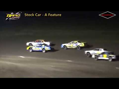 B-Modified/Stock Car Features - Rapid Speedway - 9/14/18