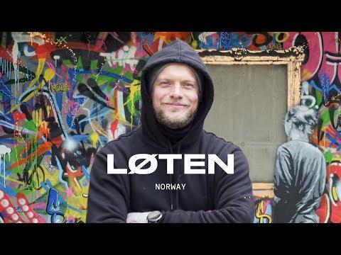 Munch Inspired Street Art in Løten | SPRAY with Martin Whatson: Part 2