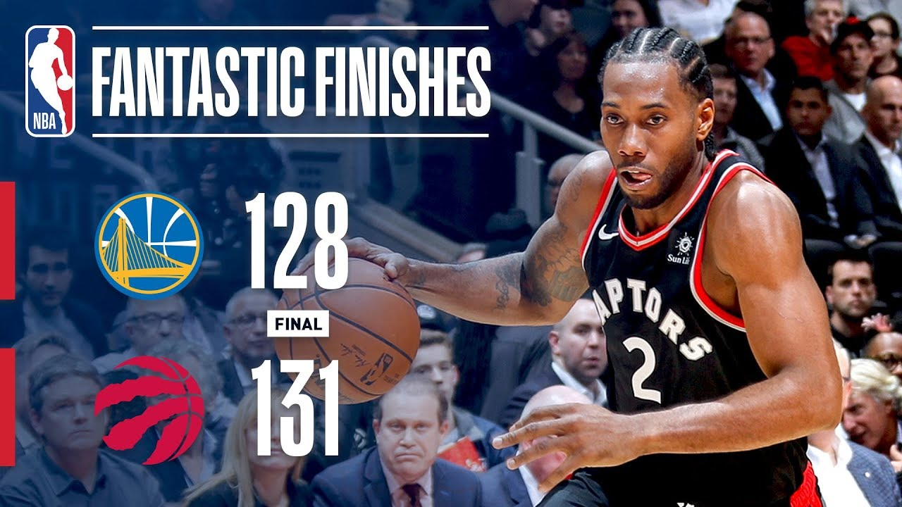 new style 5a99d 25865 The Golden State Warriors and Toronto Raptors OVERTIME Thriller | November  29, 2018