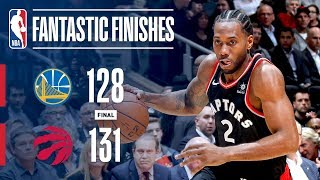 The Golden State Warriors and Toronto Raptors OVERTIME Thriller | November 29, 2018