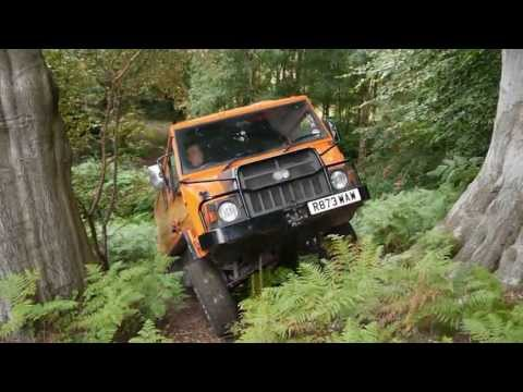 Pinzgauer 718 and Land Rover SIII at Ash 4x4