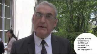 Louis Villaret de Hérault Tourisme - Résidence de France à Madrid - 9 MAI 2013