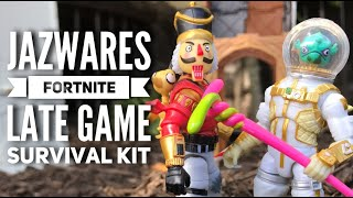 Jazwares Fortnite Late Game Survival Kit w/ Crackshot & Leviathan Series 3 Action Figure Toy Review!