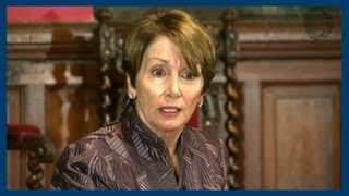 Lobbying Against Guns | Nancy Pelosi | Oxford Union