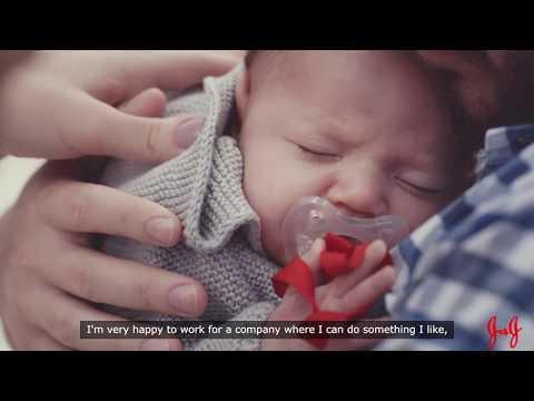 How Johnson & Johnson's Expanded Global Parental Leave Helps New Families Bond: Brazil