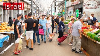 JEWS, MUSLIMS And CHRISTIANS. Peaceful Ramla Market