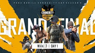 Cover images PCC - WAVE 3 FINAL   DAY 1 - [PUBGM Community Cup Season 5]