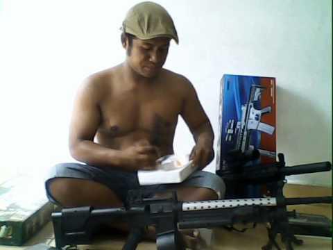 Spring Airsoft Gun Murah Review Airsoft Gun Youtube