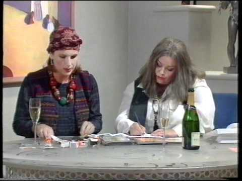 French & Saunders - Awful Art Dealers - Best Funny Voices EVER!