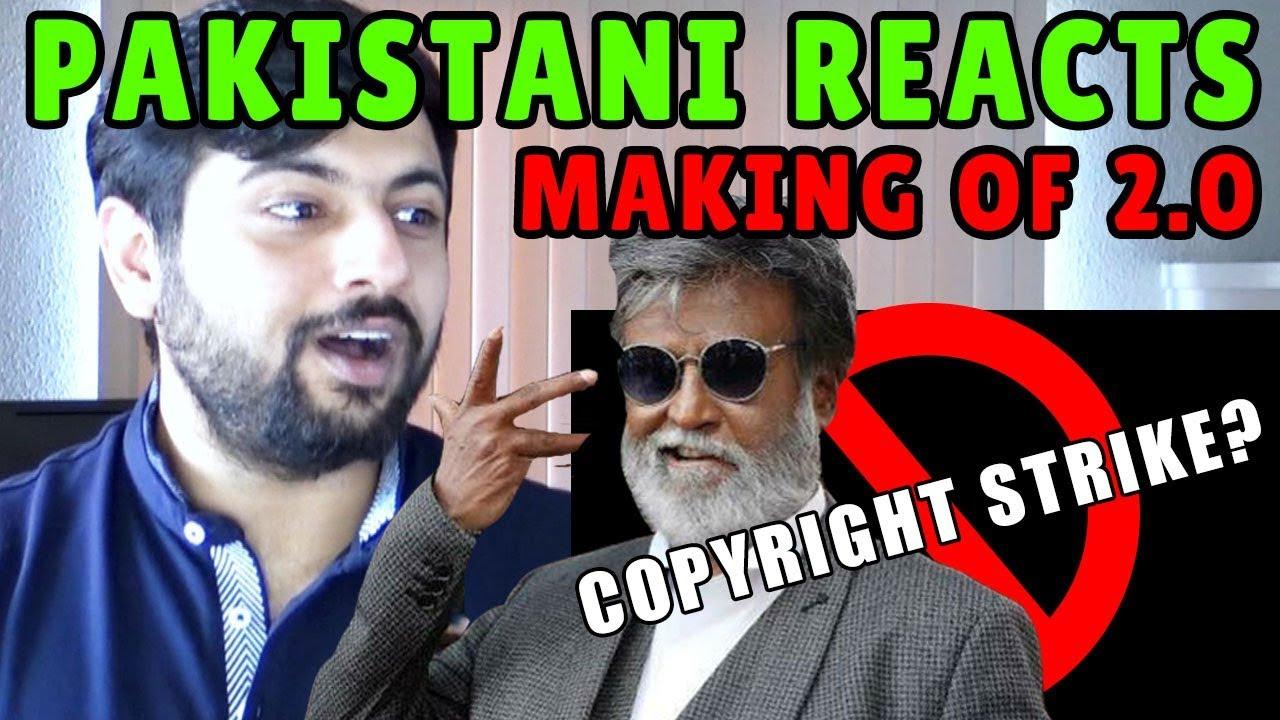 Pakistani Reacts to Making of 2.0 | Rajinikanth, Akshay Kumar ...