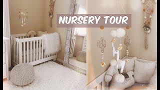 NURSERY TOUR // DECOR AND ORGANIZATION