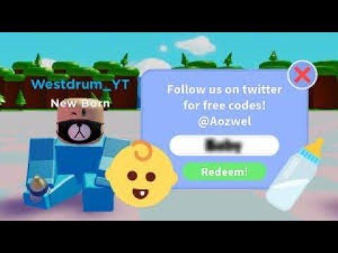 Baby Simulator Codes - 2019 - YouTube