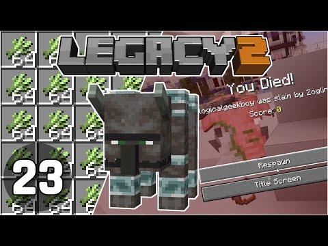 Sugarcane Farm & So Much Death! - Legacy SMP 2: #23 | Minecraft 1.16 Survival Multiplayer