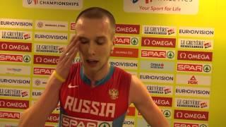 Степан Поистогов - 800м Полуфинал, Прага 2015