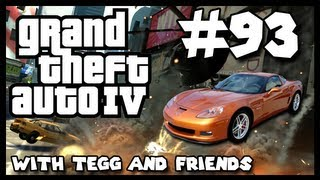 """Insane Car Chase Begins!"" (GTA IV Multiplayer w/Friends - Episode 93 - HD)"