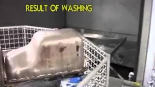 Lavadora para limpiar y desengrasar piezas de automóvil - automoción