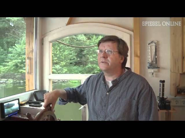 Im alten Stil: Fachwerk-Hausboot erobert die Spree - SPIEGEL TV #1