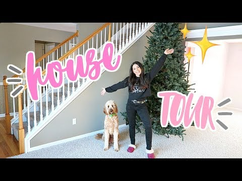 EMPTY HOUSE TOUR! OUR NEW HOUSE!