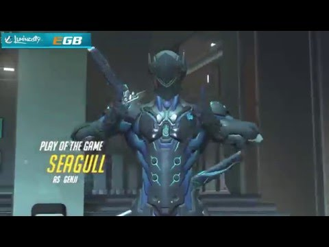 A mix of defensive/aggressive Genji play