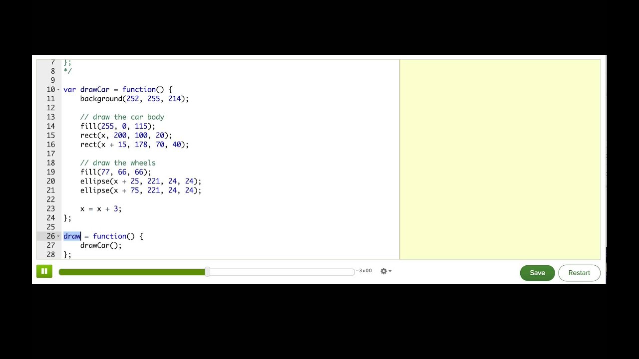 Special Processingjs Functions Computer Programming Khan Academy