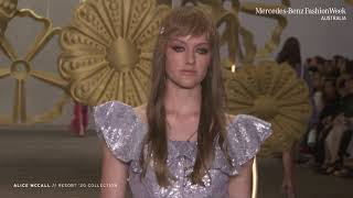 ALICE MCCALL MERCEDES - BENZ FASHION WEEK AUSTRALIA RESORT '20 COLLECTIONS
