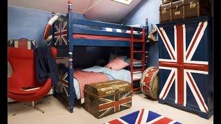 Дизайн детской комнаты в английском стиле
