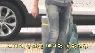 박시후Park Si Hoo 입국 포착, 청청 공항패션 …