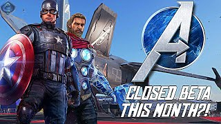 Marvel's Avengers Game - Closed Beta Coming This Month?!