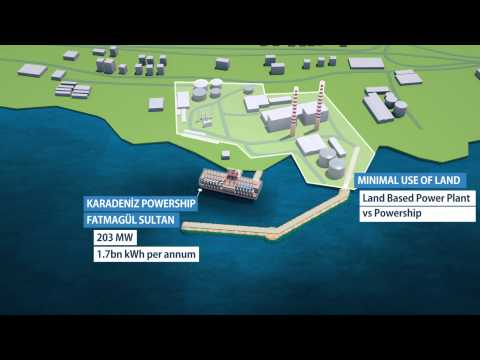 Karpowership's electricity-generating vessels