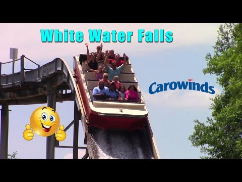 White Water Falls At Carowinds