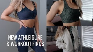 NEW ATHLEISURE & WORKOUT CLOTHING Haul | Try On thumbnail
