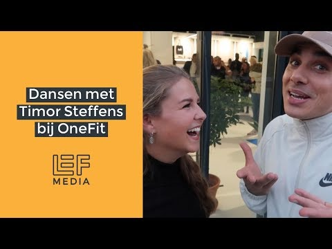 Onefit | Opening Pop-up Gym OneFit Rotterdam met Timor Steffens