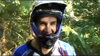 Школа горного велосипеда. Урок 8. Выбор траектории на поворотах