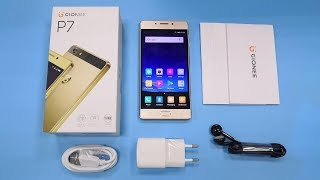 GIONEE P7 Unboxing & Quick Review Video