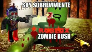 Roblox l Zombie Rush#2 Soy Sobreviviente