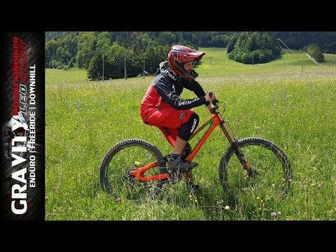 """testride-mit-""""rosalinde""""-downhillbike-von-fabio-wibmer- -specialized-sworks-demo- -leo-kast"""