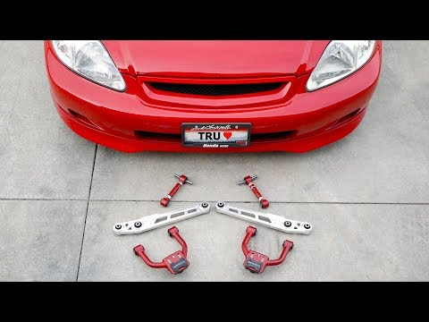 The missing link(s) for a proper Civic Suspension | Front & Rear Camber Kit