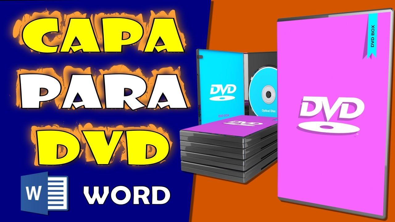 Como Criar Uma Capa De Dvd No Word Youtube
