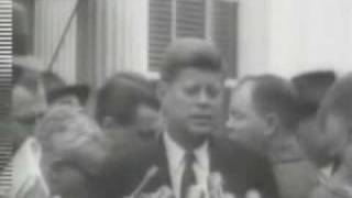 December 6, 1960 - President-Elect John F. Kennedy meets with President Dwight Eisenhower