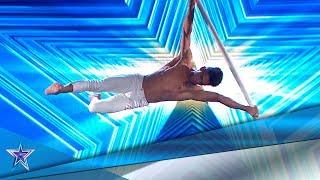 Este CUBANO sorprende al jurado VOLANDO por los AIRES | Audiciones 4 | Got Talent España 5 (2019)