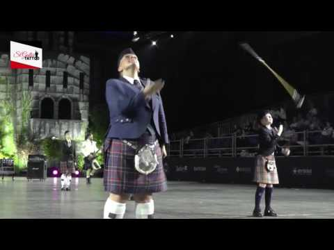 We will rock you: bagpipe, band & drummajors  @ Sankt Galler Tattoo 2016