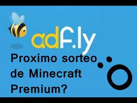 Información sobre Adf.ly   ¿Sorteo de Minecraft Premium? Lo decidís vosotros