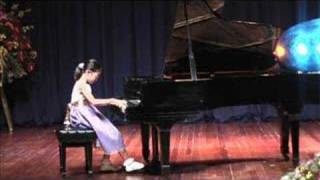 Hannah plays Bach Prelude and Fugue No 10 in E Minor WTC 1