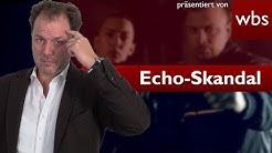 Echo-Skandal um Farid Bang & Kollegah - Volksverhetzende Inhalte? | Rechtsanwalt Christian Solmecke