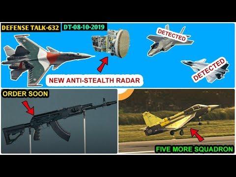 Indian Defence News:Anti-Stealth Radar For Su-30mki,Ak-203 order,five more Tejas Squadron,PC-7 Mk2