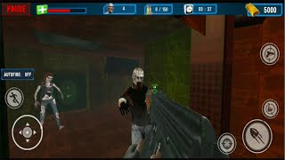 Real Zombie Survival:Offline Dead Target Shooter - Android GamePlay -Zombie Shooting Games Android#3