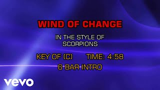 Scorpions - Wind Of Change (Karaoke)