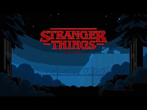ストレンジャーシングスのゲームの画像